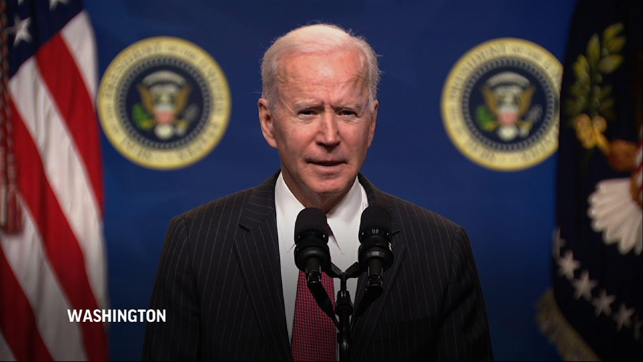 Biden: US will sanction those behind Myanmar coup