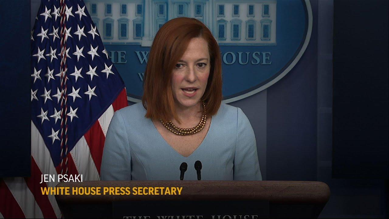 WH: Biden focus on working on relief, not trial