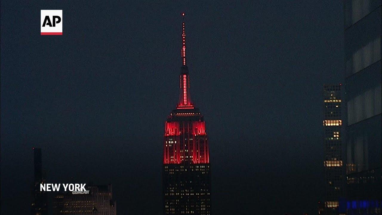 New York landmark lit up to honor Chinese New Year
