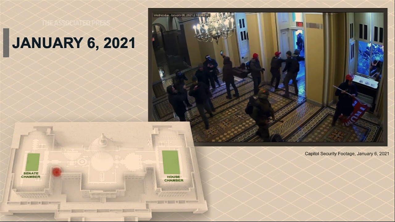 Trump trial video unveils scope of US Capitol riot