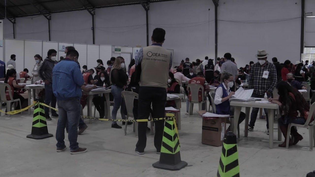 Recount to decide runoff election ticket in Ecuador
