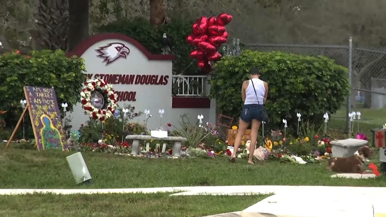 Parkland shooting victims honored on anniversary