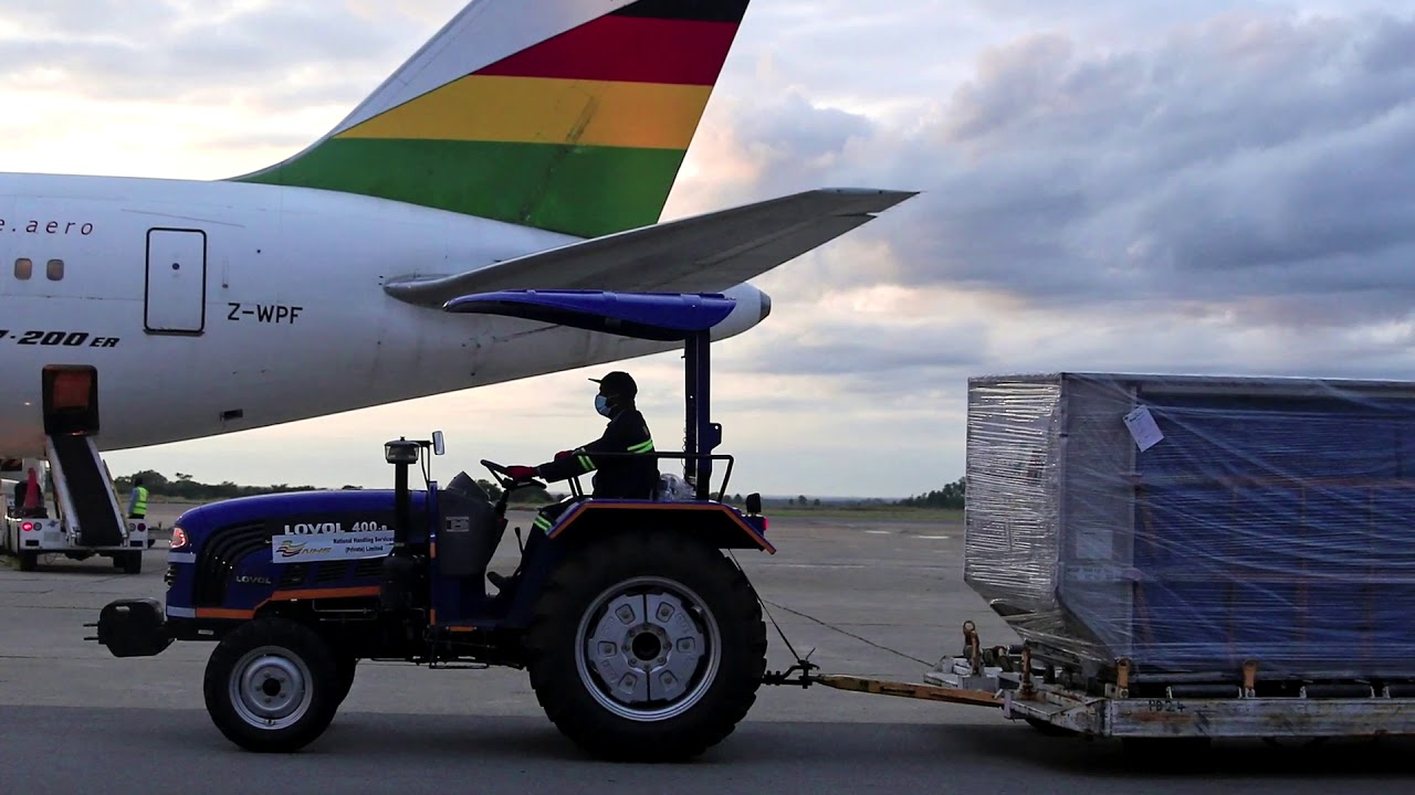 Zimbabwe's first vaccines arrive