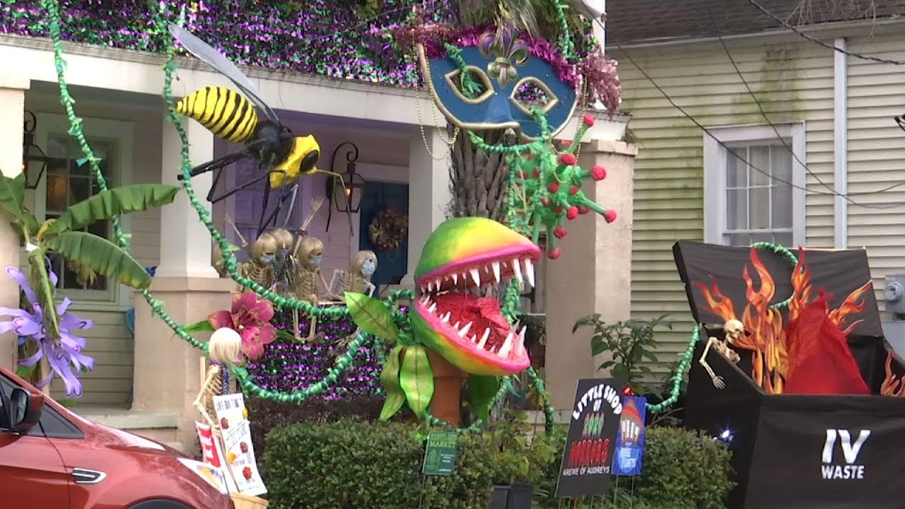 Mardi Gras marked by House floats in New Orleans