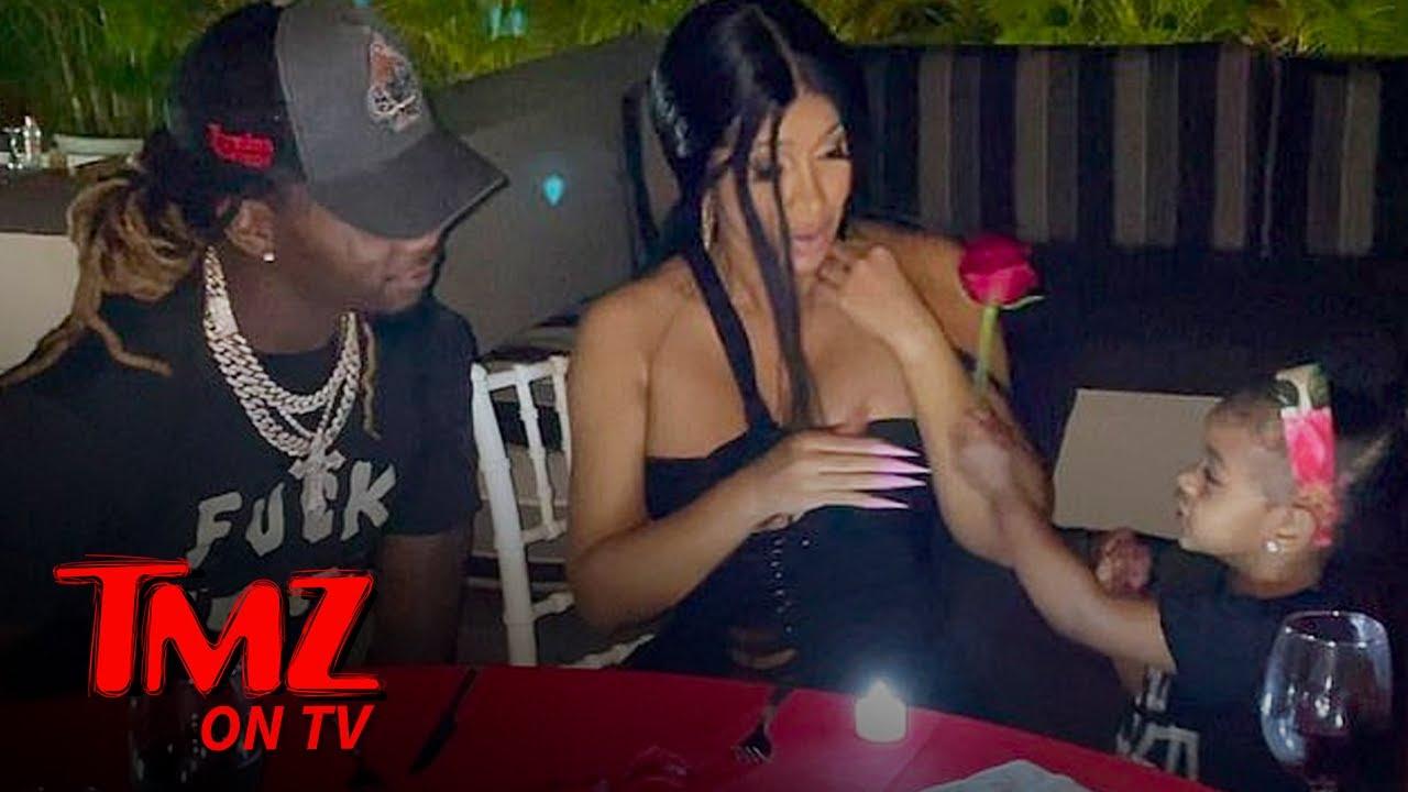 Offset Spoils Cardi B On Valentine's Day | TMZ TV