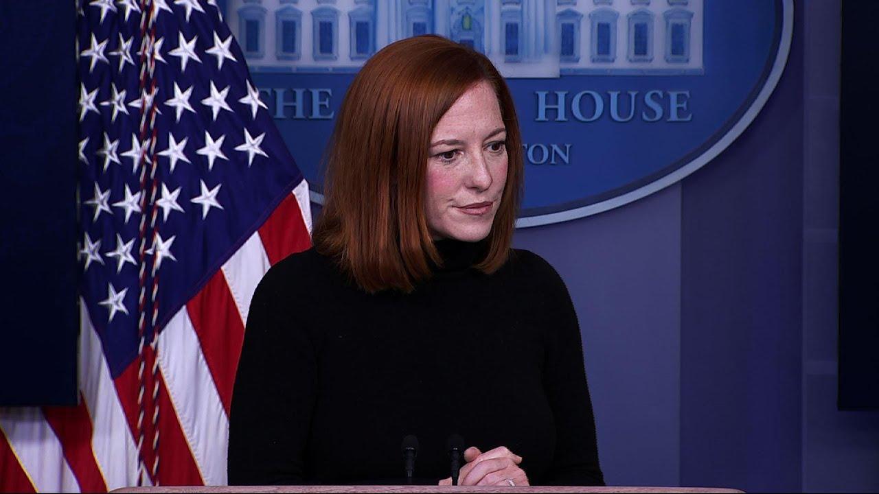Psaki: Biden supports a commission to probe Jan. 6