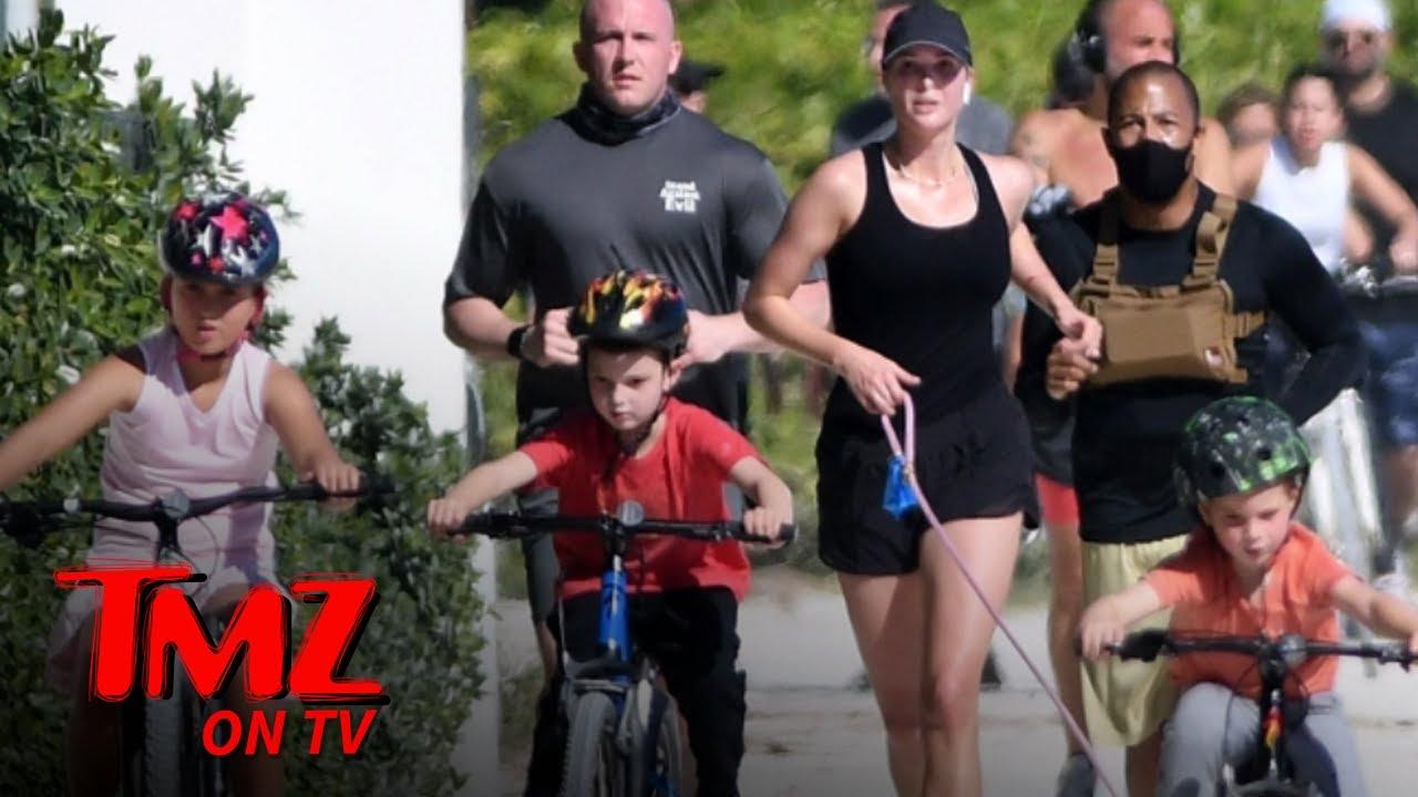 Ivanka Trump Goes For A Run! | TMZ TV