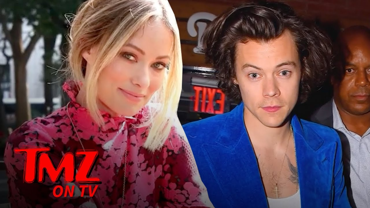 Olivia Wilde Moves From Jason Sudeikis' Home To Harry Styles' Place | TMZ TV