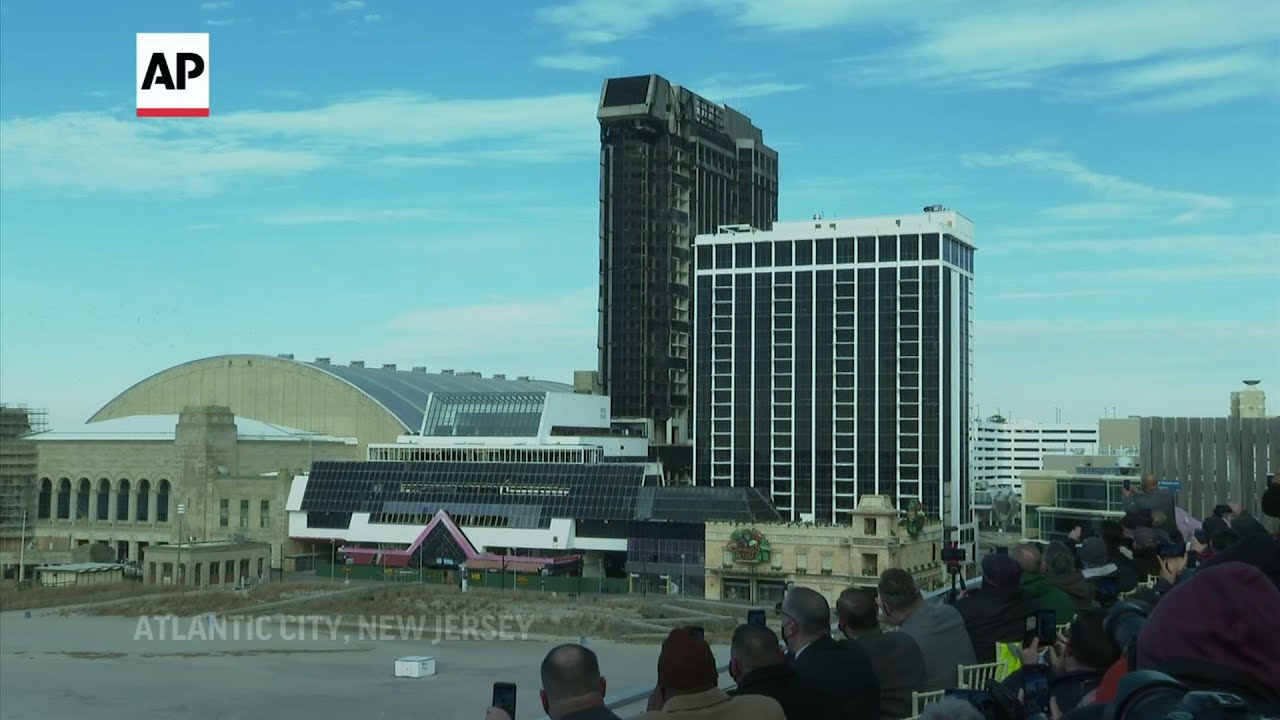 Former Trump casino in NJ goes out with a bang