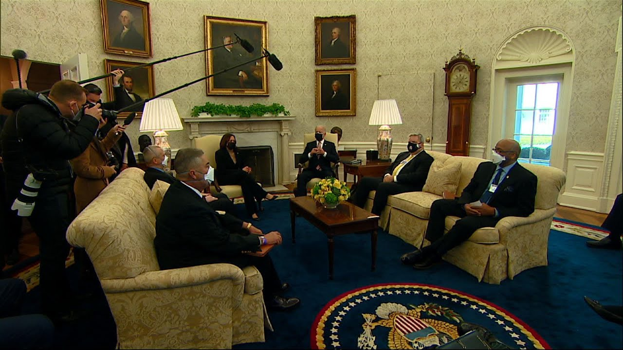 Biden: Americans want 'everything' in relief plan