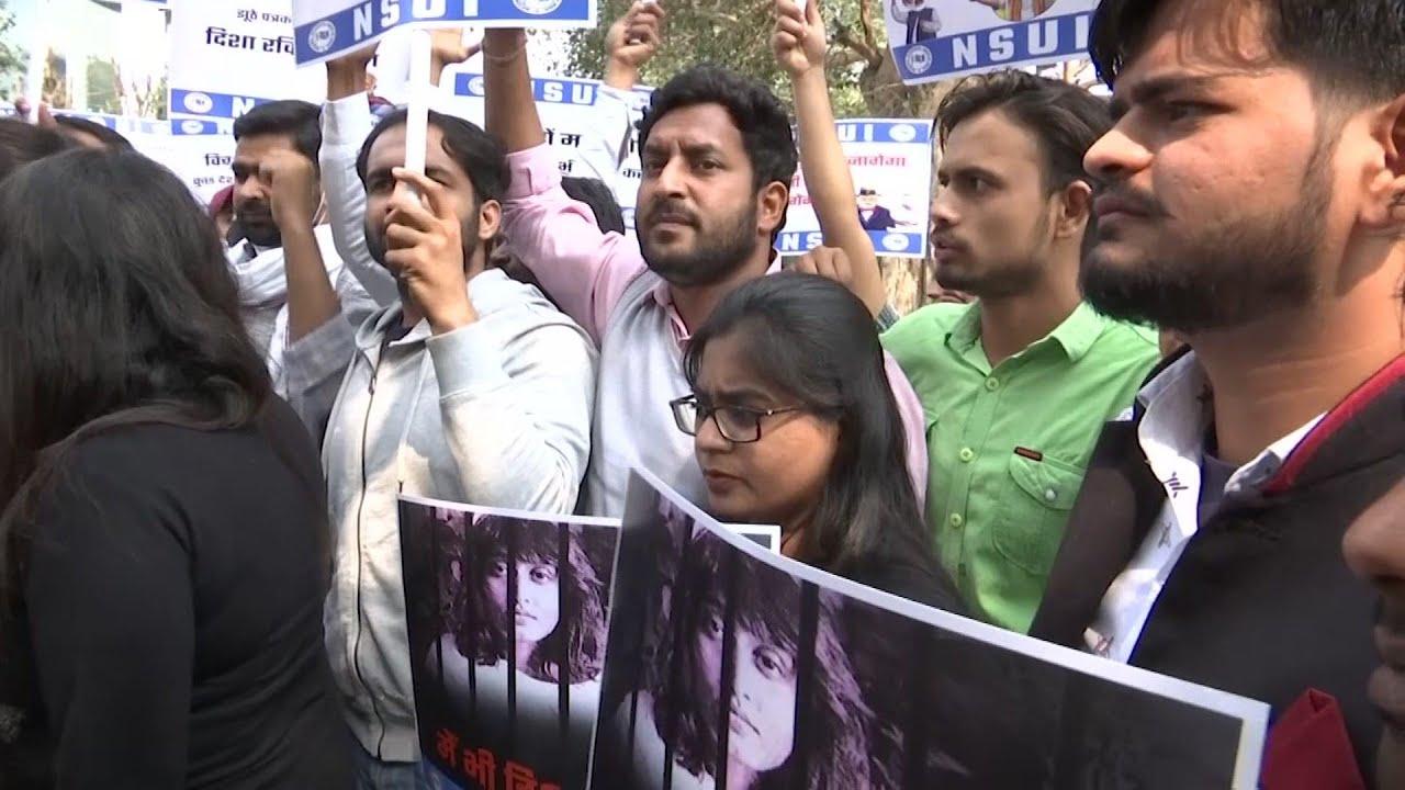 Delhi protest demands release of climate activist