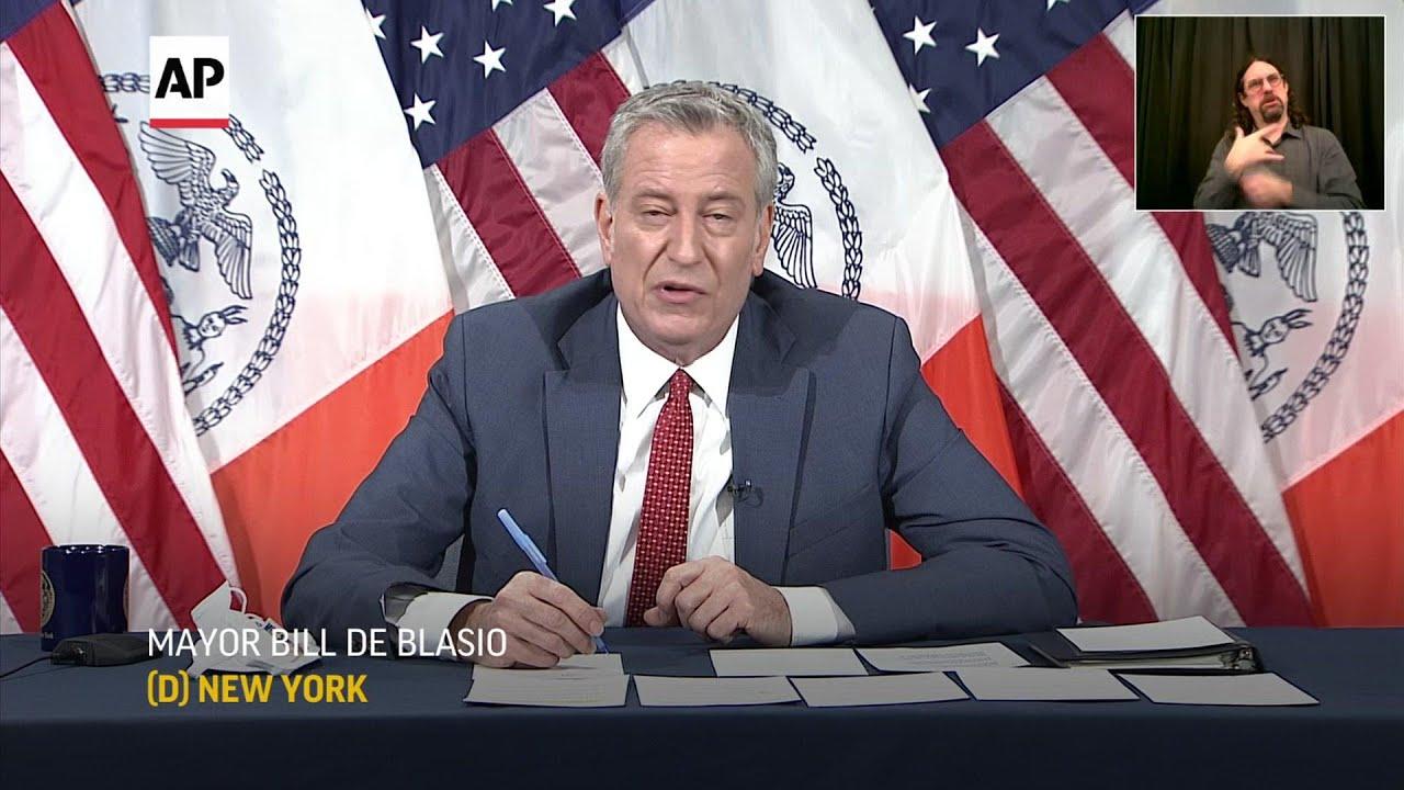 NYC Mayor Bill de Blasio says he believes Ron Kim