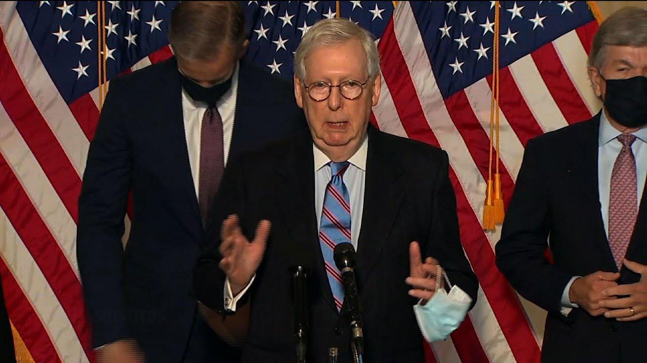 GOP Senate leaders sound off on COVID relief bill