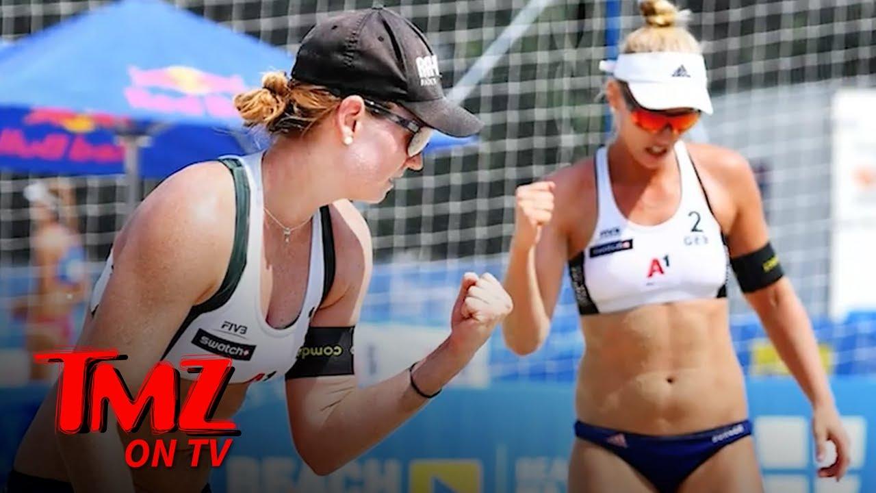 Beach Volleyball Stars Boycotting Qatar Tourney Over Skimpy Bikini Ban   TMZ TV