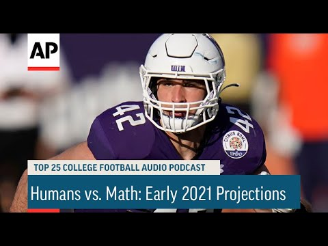 Humans vs. Math: Early 2021 Projections | AP Top 25 Podcast