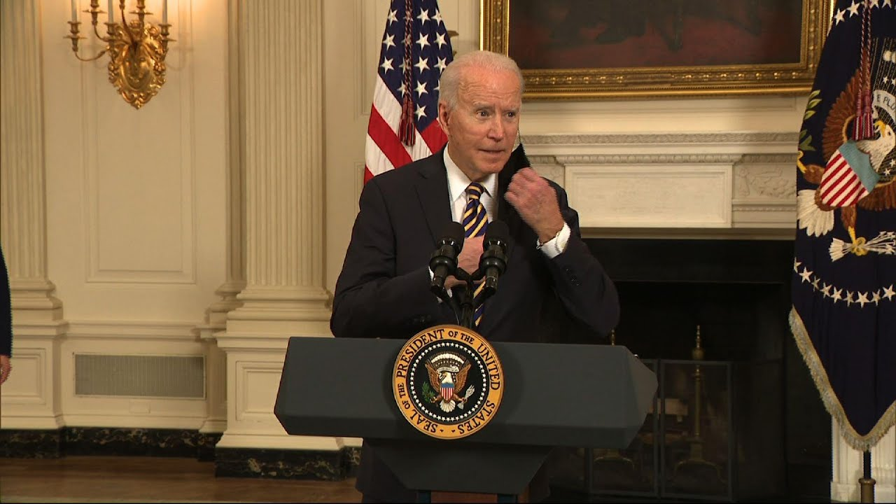 Biden signs order aimed at securing supply chains