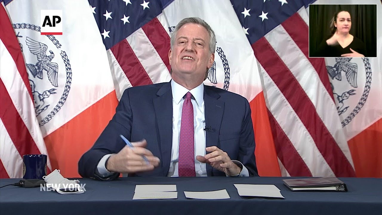 Blasio: don't 'assume the worst' about new variant