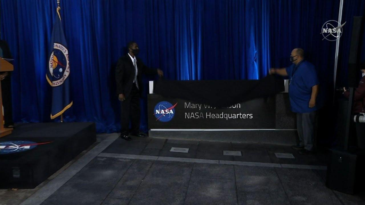 NASA names DC HQ for 'Hidden Figures' engineer