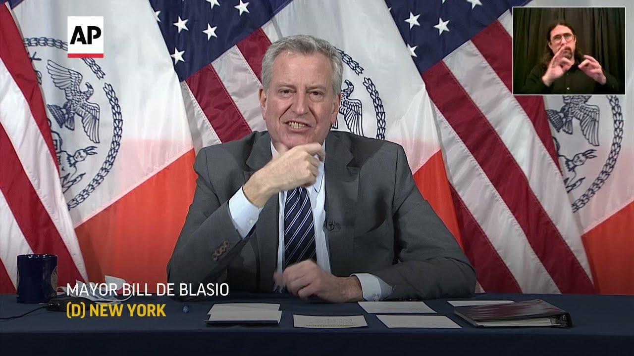 Mayor de Blasio: Sexual harassment 'not funny'
