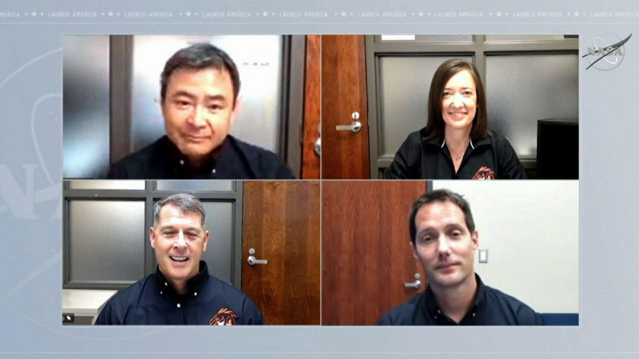 Astronauts discuss upcoming Crew-2 mission to ISS