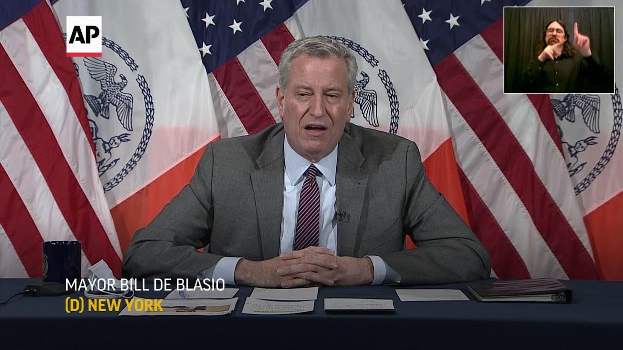 De Blasio: Cuomo's actions 'disgusting'
