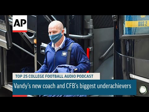 Vandy's new coach and CFB's biggest underachievers   AP Top 25 Podcast