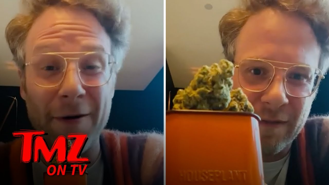Seth Rogen Launched A Weed Company! | TMZ TV