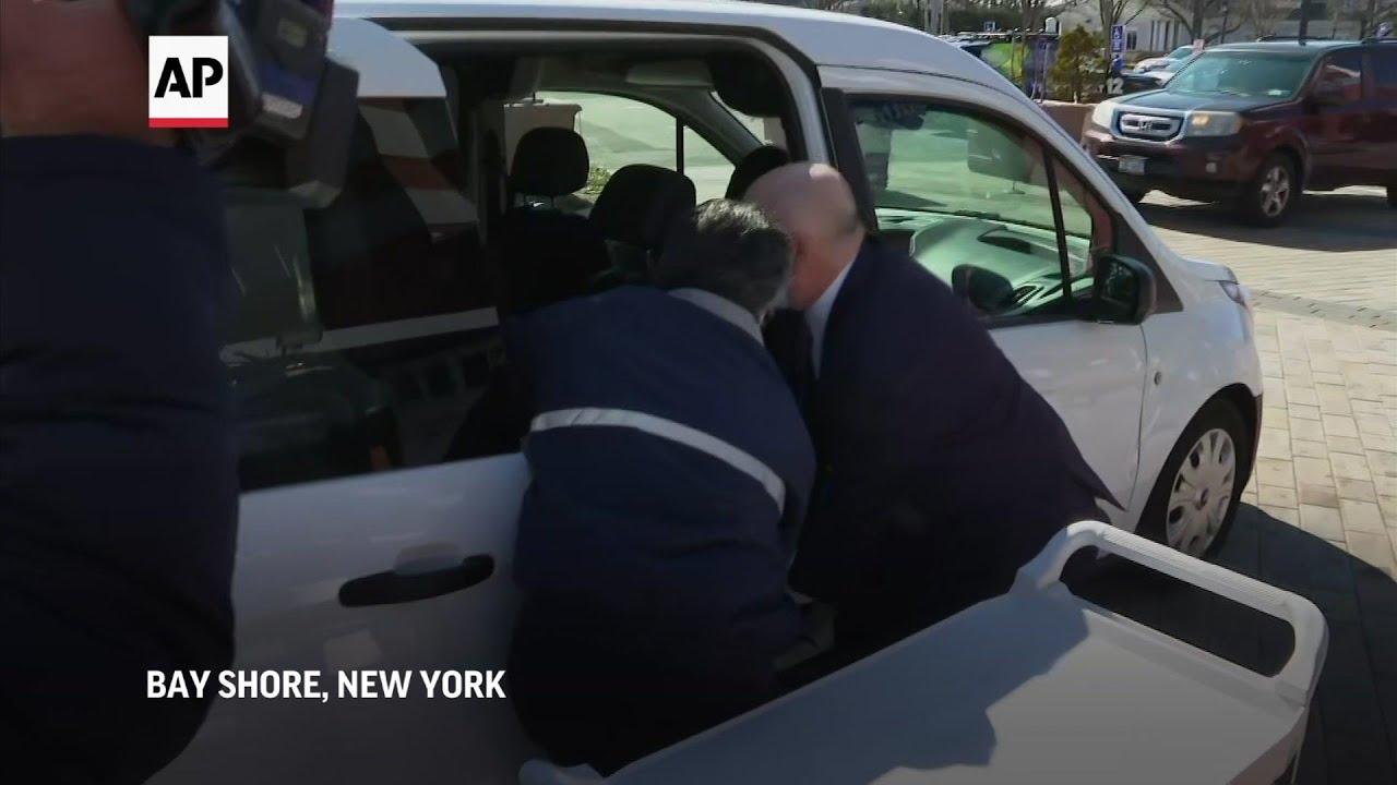 Johnson & Johnson vaccine arrives in New York