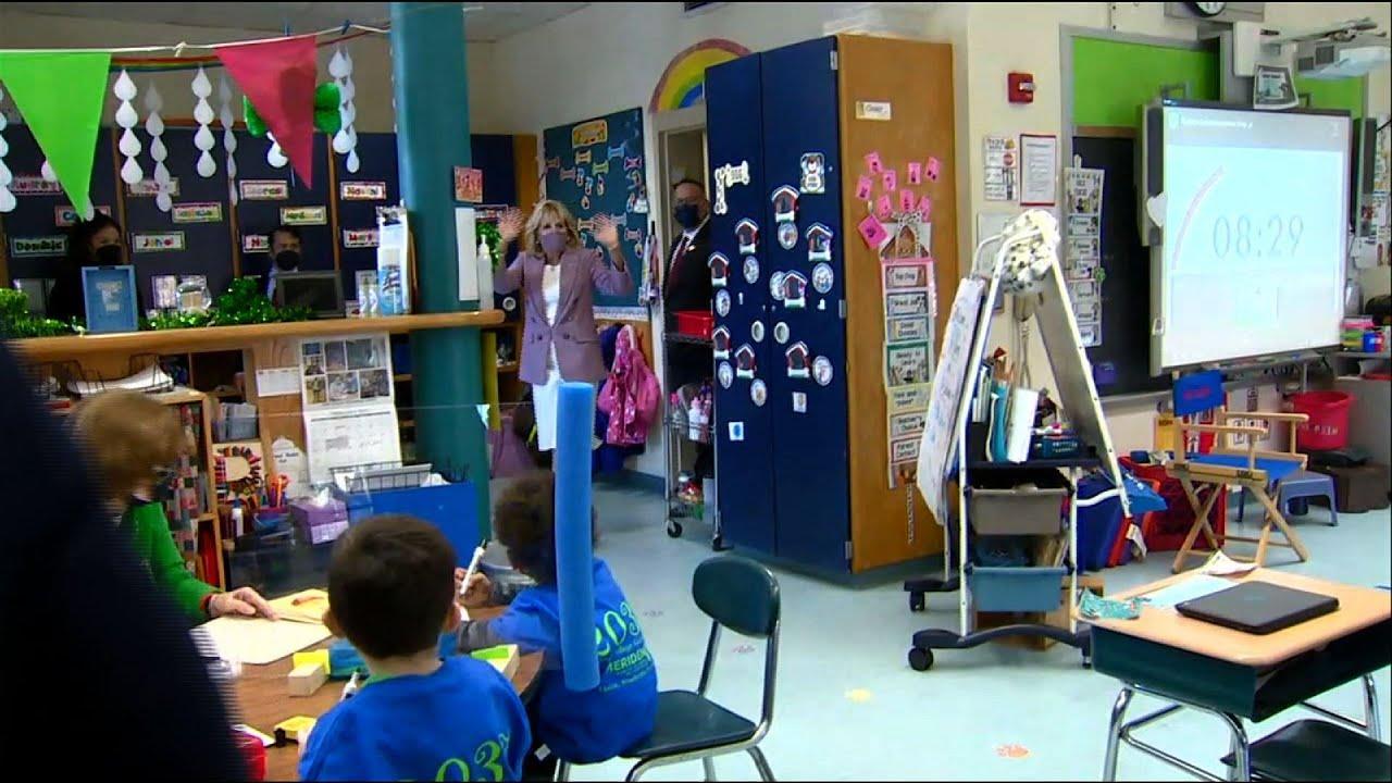 Back to school for Jill Biden, new education chief