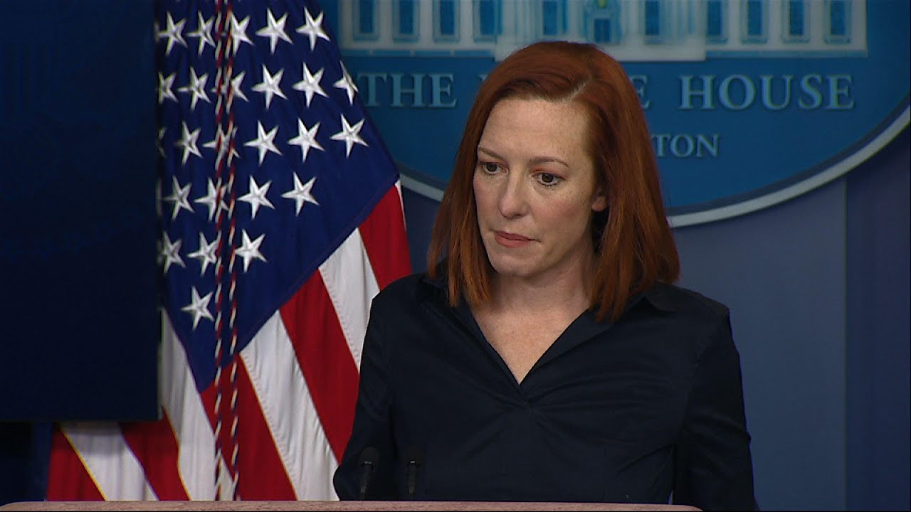Psaki won't give Trump WH credit for vaccine plan
