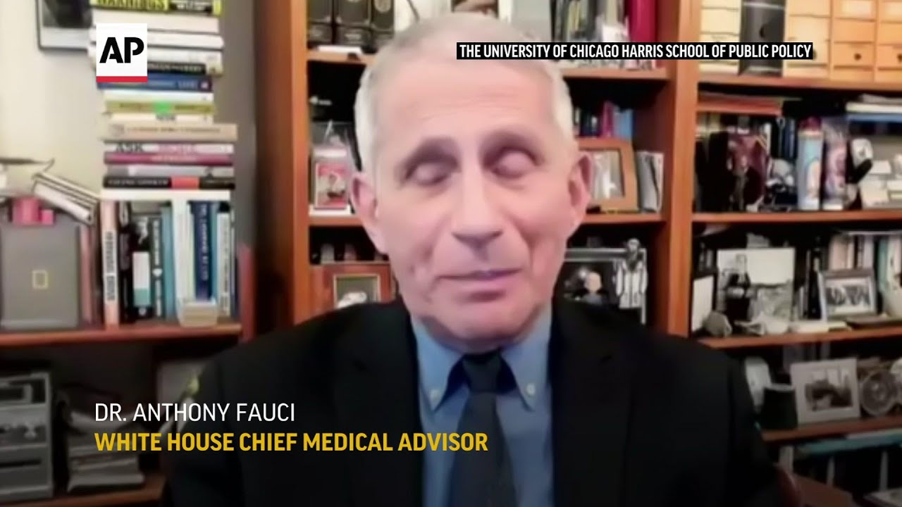 Dr. Fauci reflects on a year fighting the pandemic