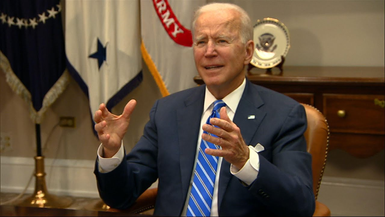 Biden applauds NASA team on Mars rover landing
