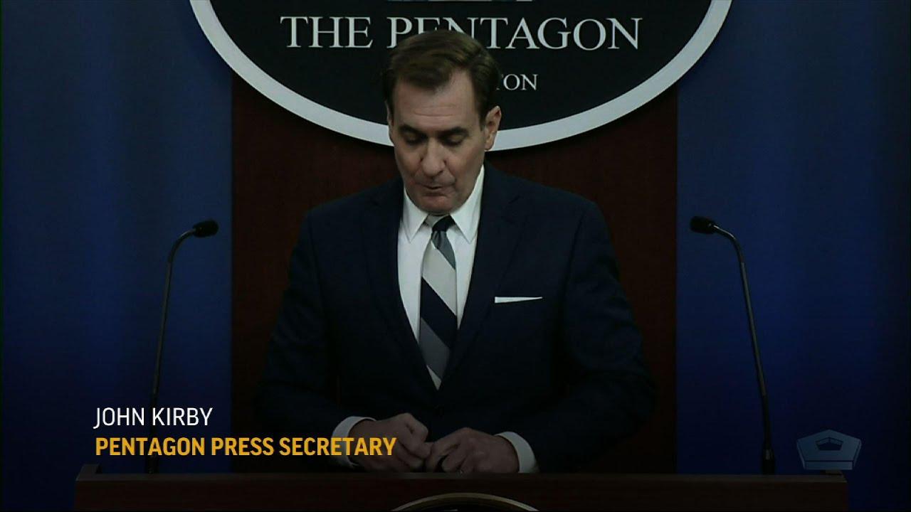 Pentagon evaluates Nat'l Guard staying at Capitol