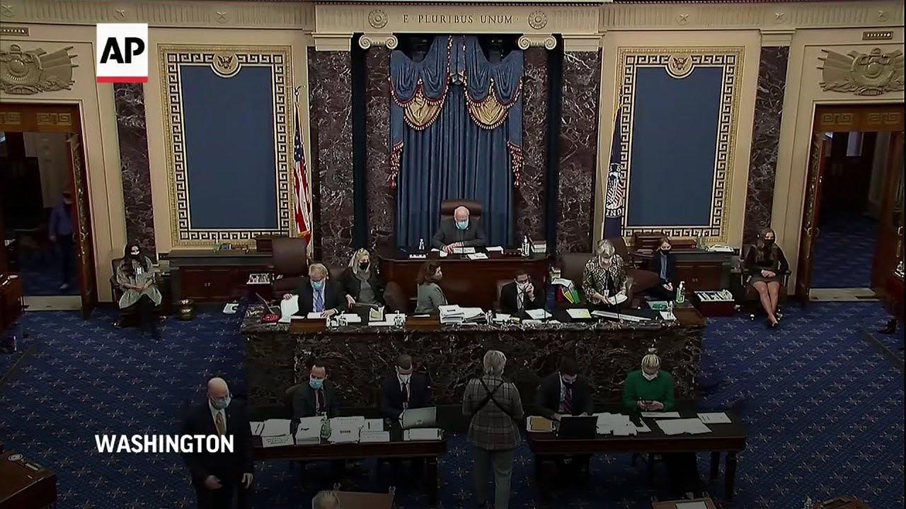 Dems prevail as Senate passes $1.9T virus aid bill