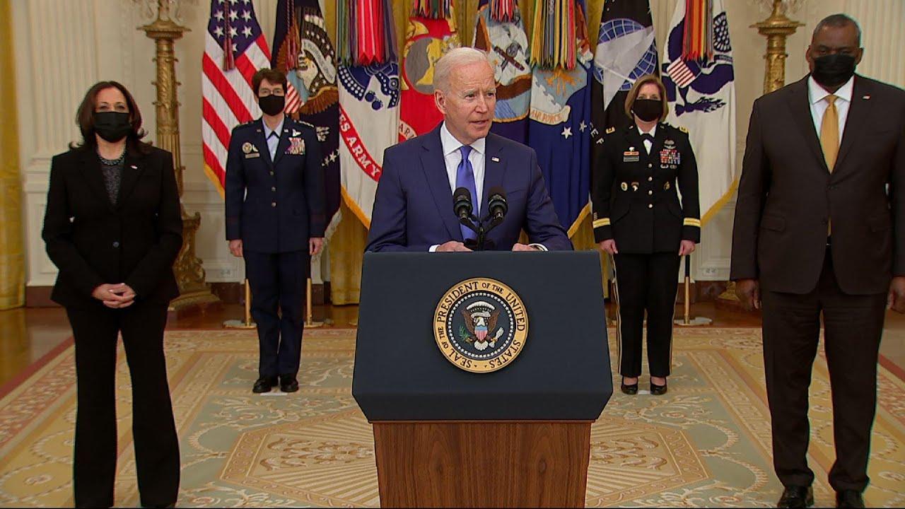 Biden nominates female generals to 4-star commands