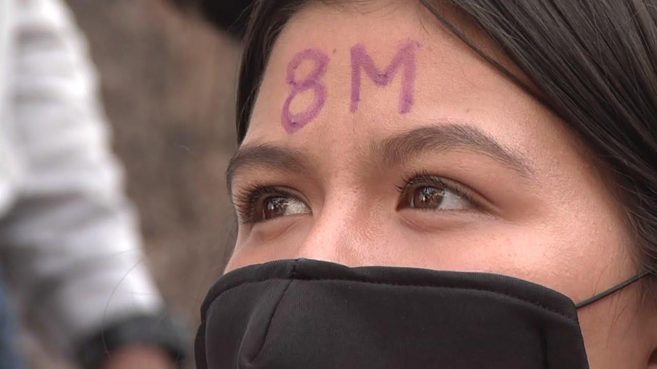 Women across Latin America march on Women's Day