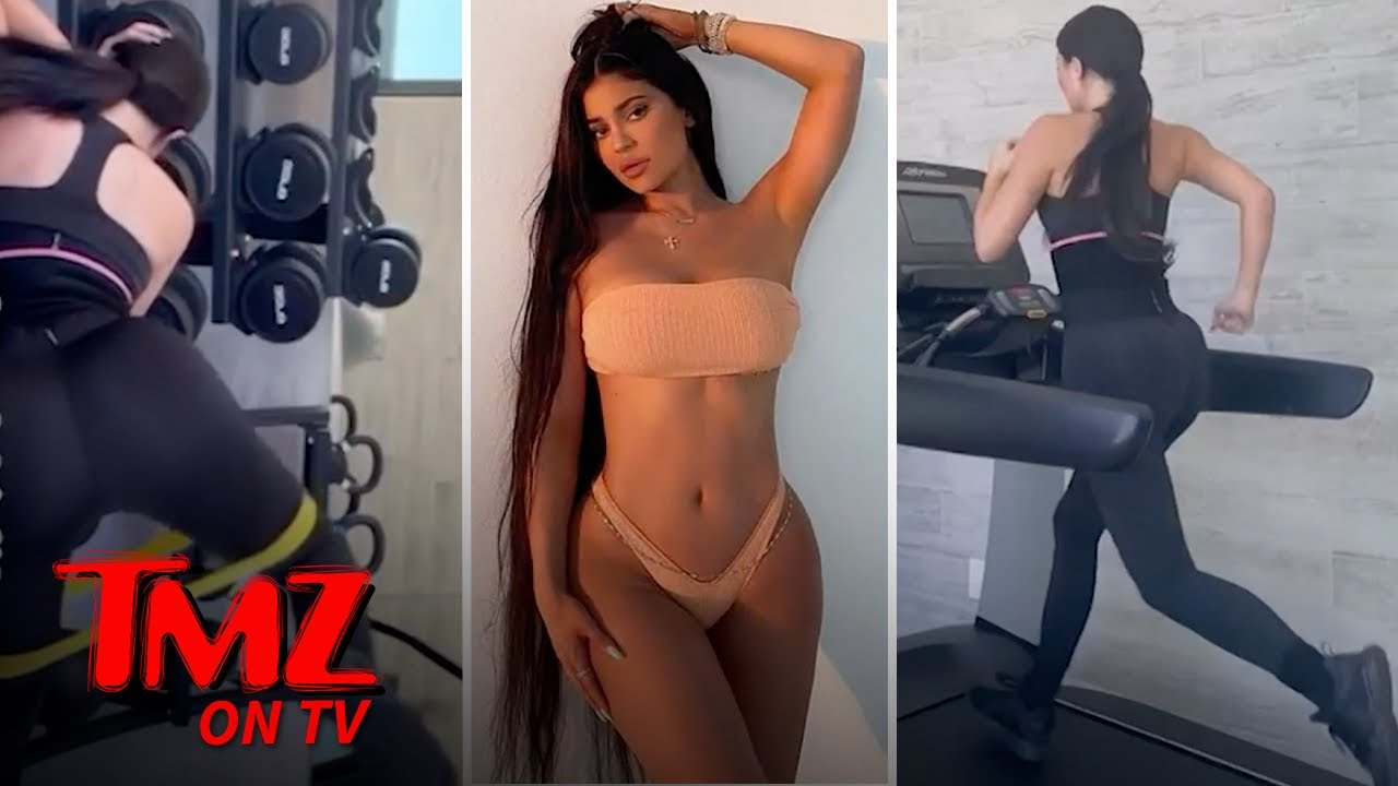 Kylie Jenner's Workout Makes Us Hot And Sweaty | TMZ TV