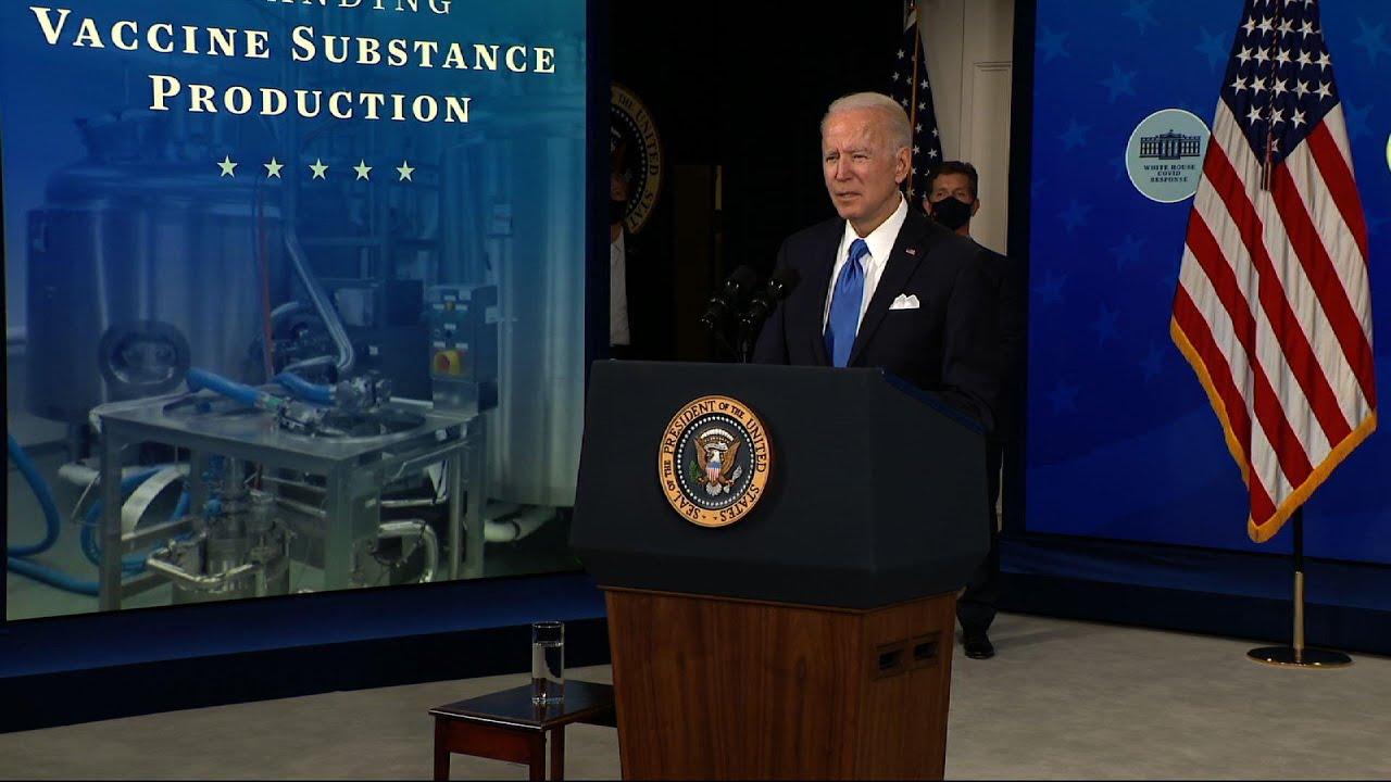 Biden welcomes relief bill passage as 'historic'