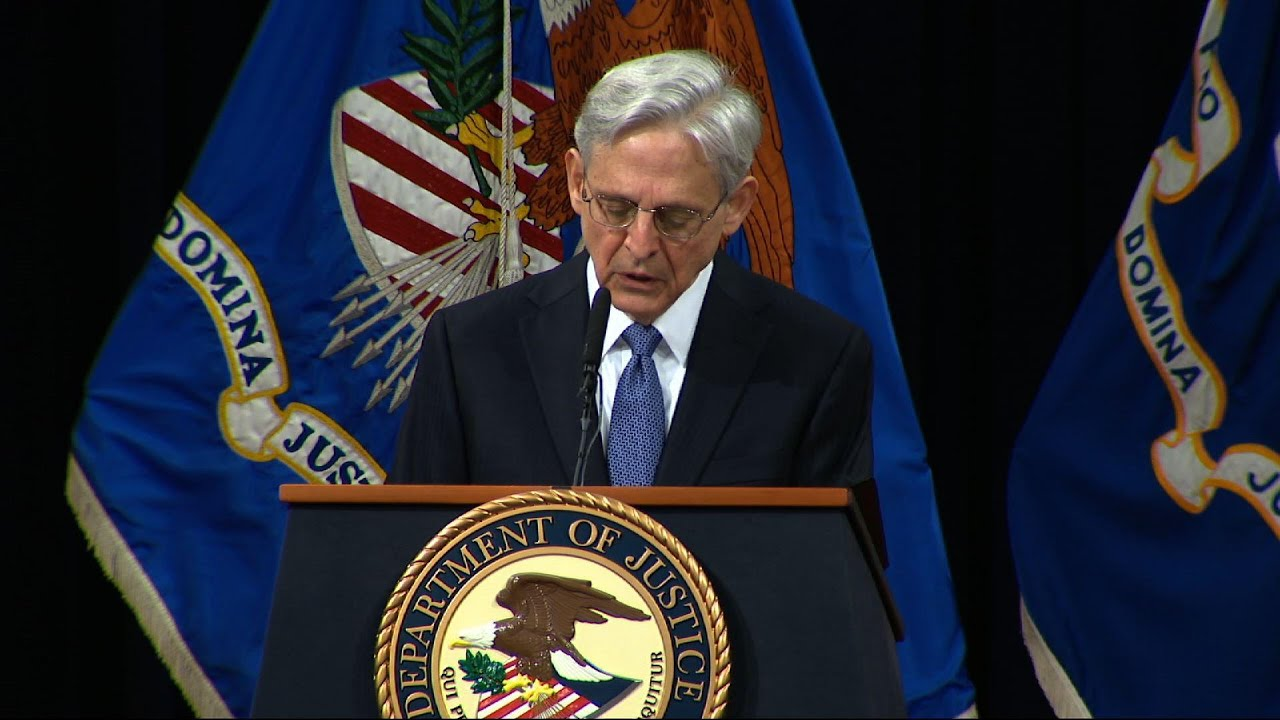 AG Garland pledges commitment to the rule of law