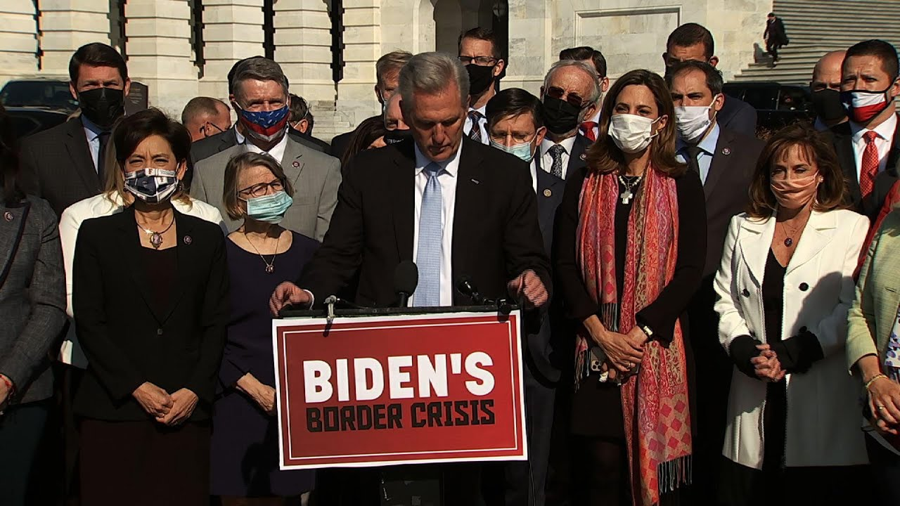Republicans call on Biden to stop surge at border