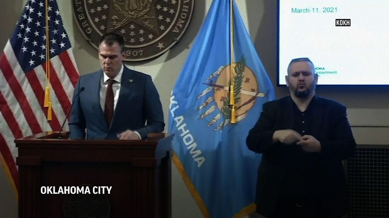 Oklahoma governor lifts virus restrictions