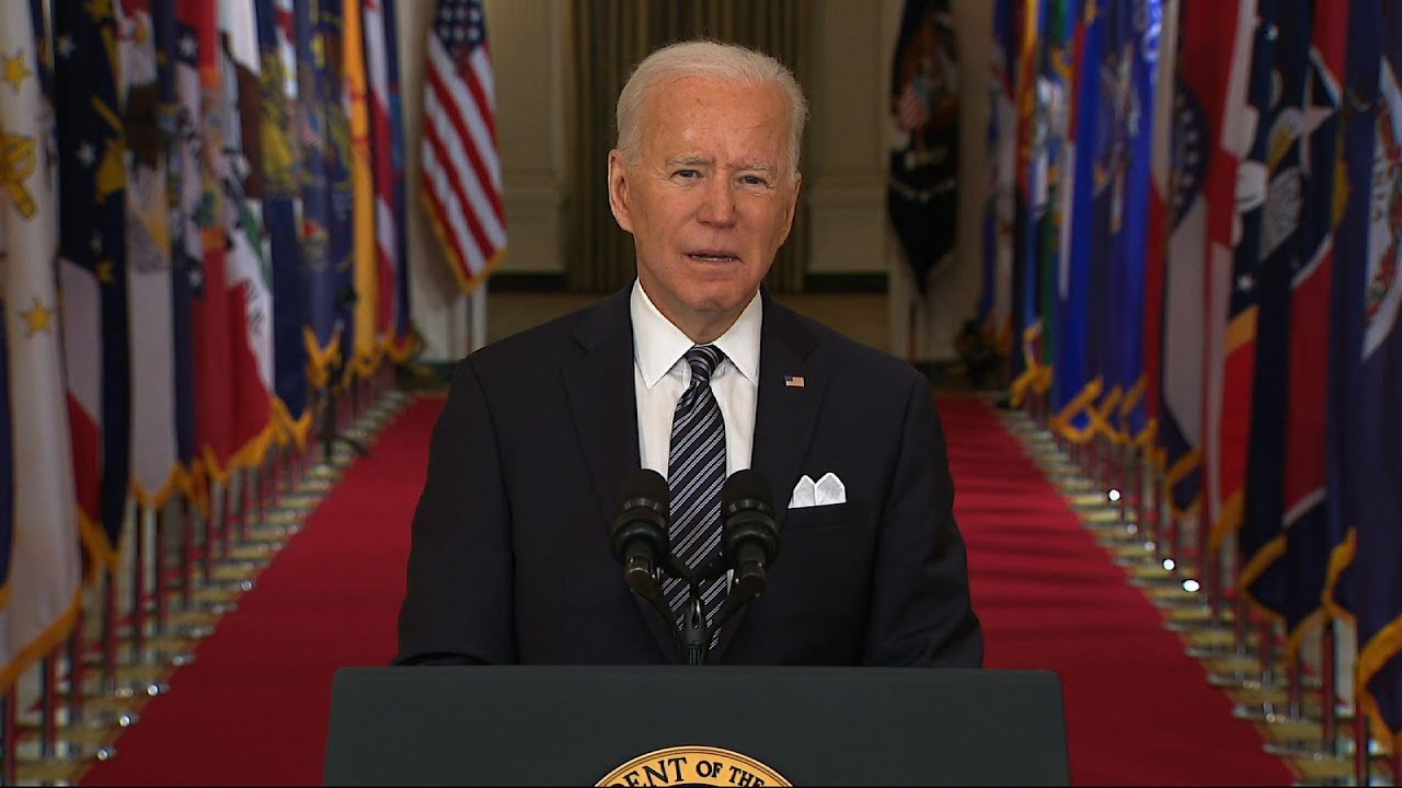 Biden urges vigilance from all Americans on virus