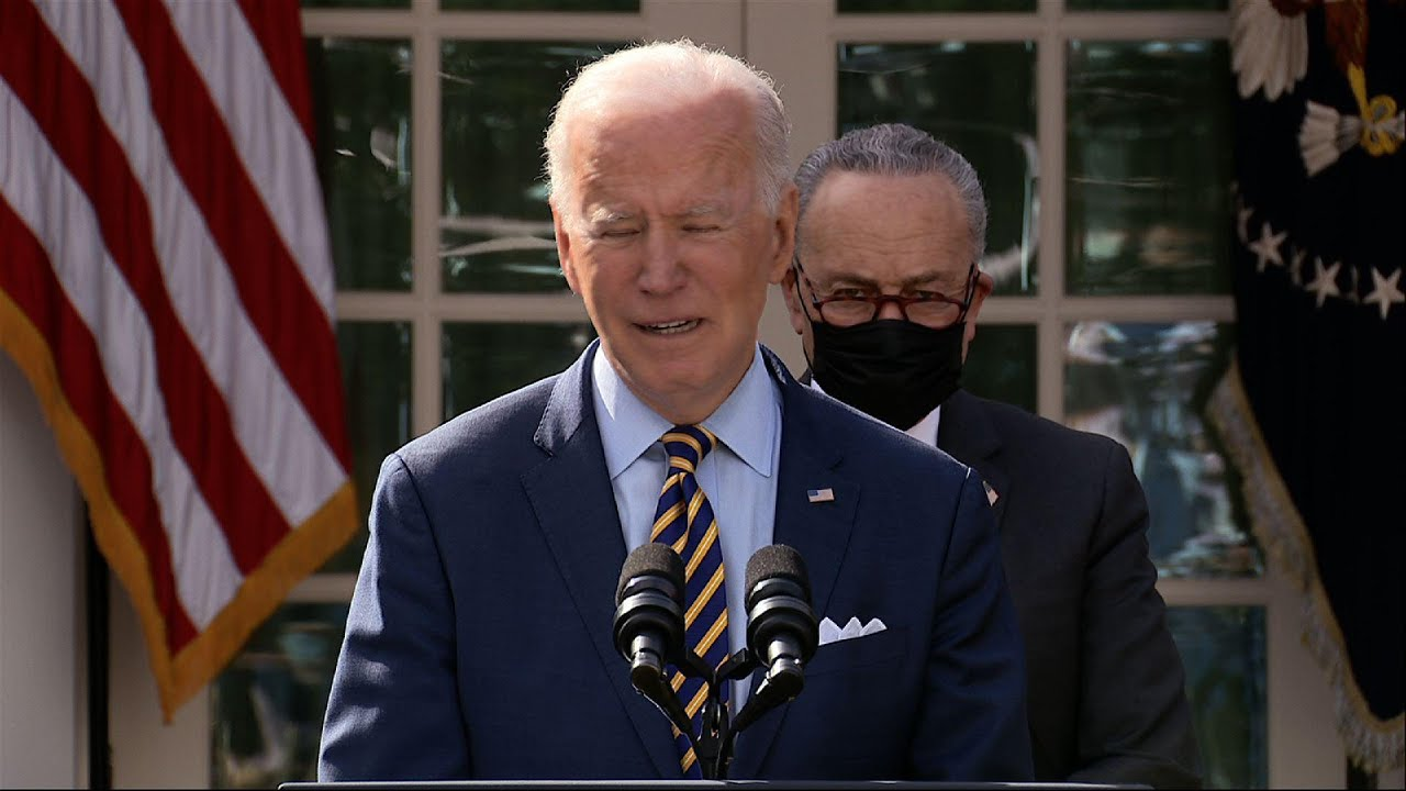Biden: COVID relief bill 'changes the paradigm'