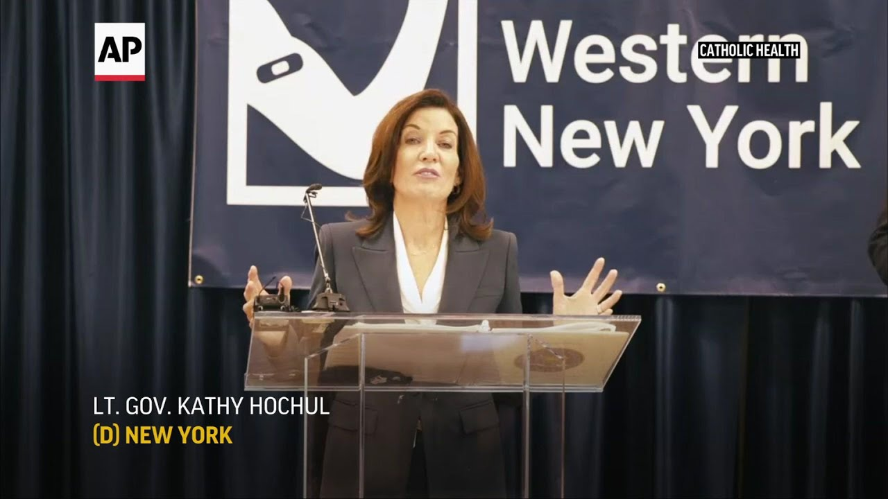 New York's Lt. Governor receives COVID-19 vaccine