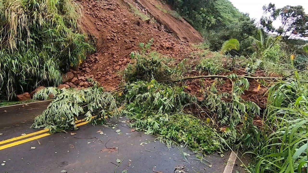 Kauai community cut off by landslides after storm