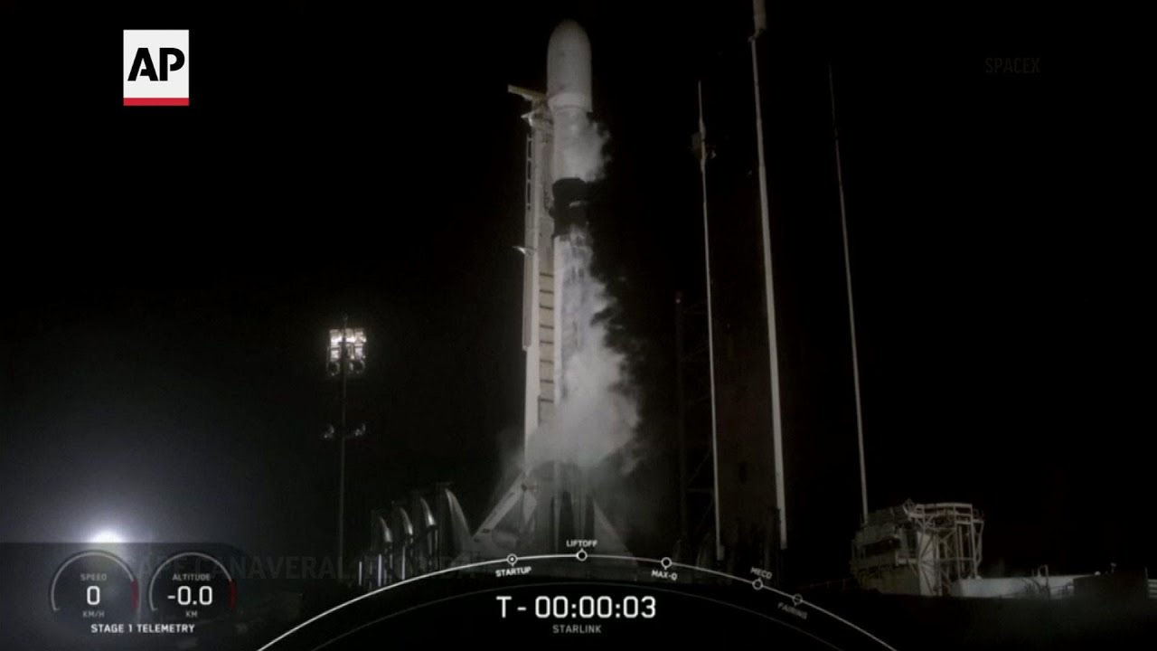 SpaceX rocket launches more Starlink satellites