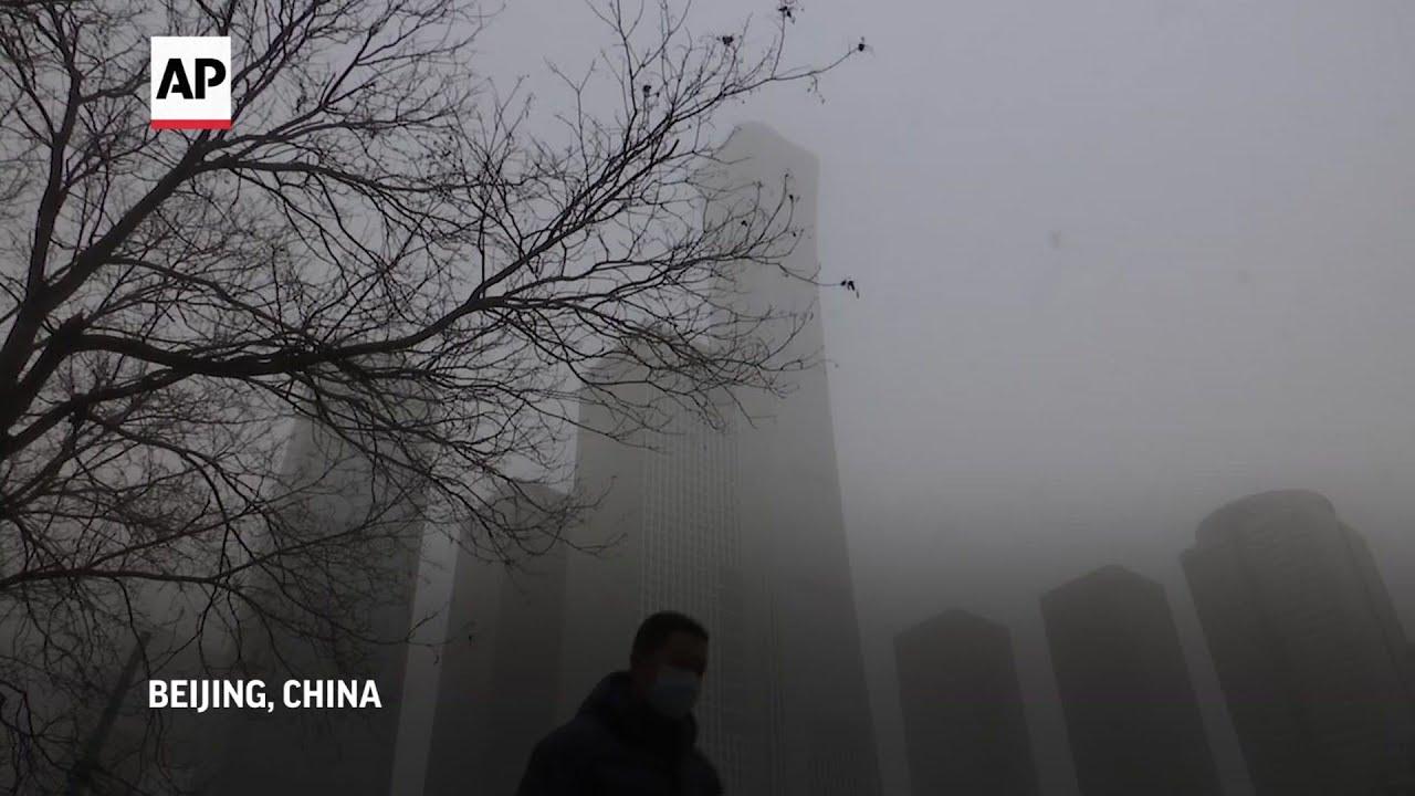Beijing enveloped in worst sandstorm in a decade