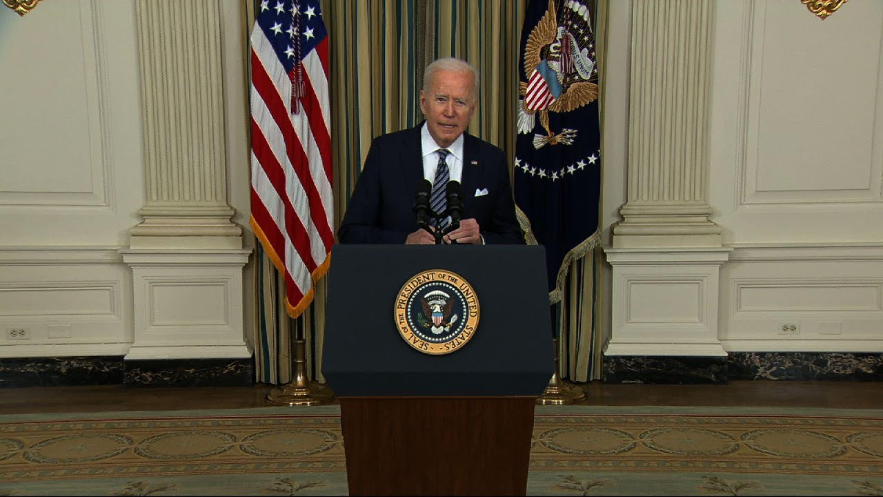 Biden on COVID relief: Help and hope 'are here'