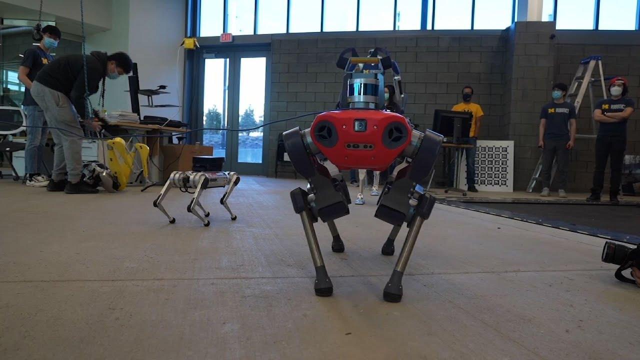 Ford, U-M partner on robotics research, building