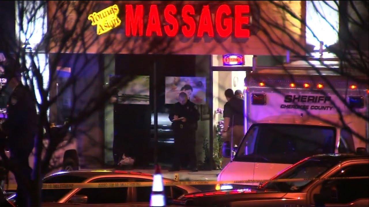 Man in custody after 8 shot dead in Georgia